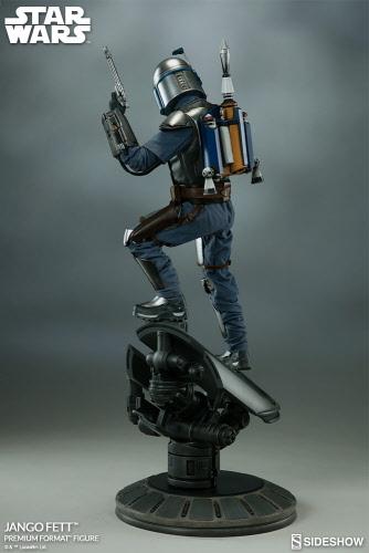 Pre-Order: Sideshow STAR WARS EPII Jango Fett 1:4 Premium Statue ...